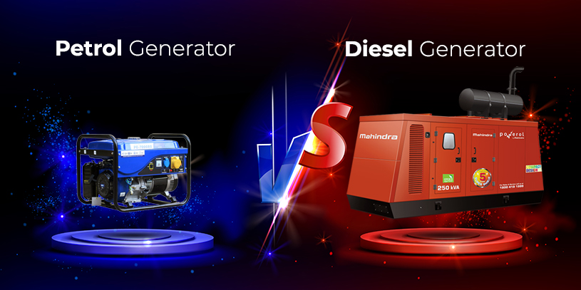 diesel generators better than Petrol generators