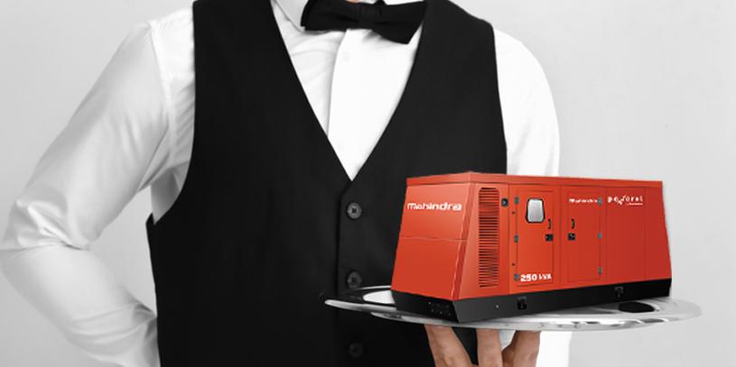 Mahindra diesel generators for hotels